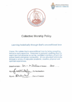 Collective Worship Policy 2020