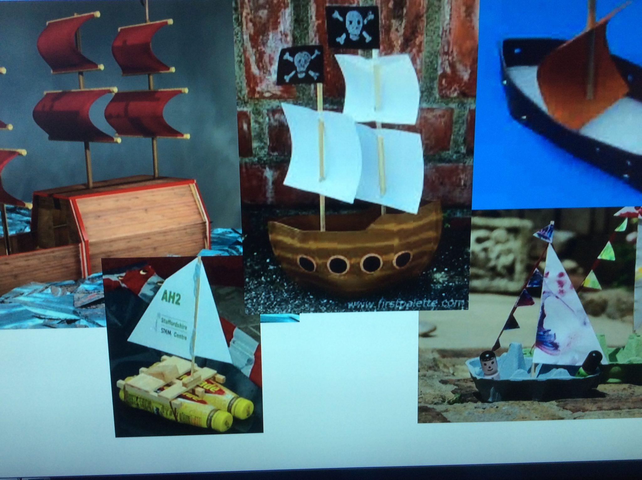 Image result for junk modelling boats