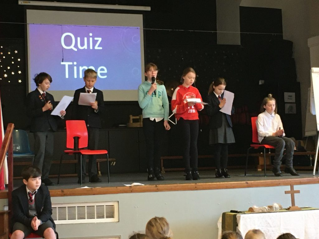 Worship Leaders Hold a Quiz!