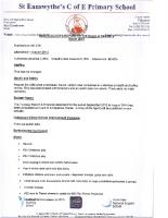 Headteacher's report to BOD March 2015