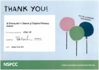 NSPCC Certificate (2019)