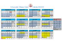 STE calendar 2021 2022 amended