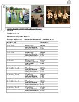 headteacher report for spring 2015