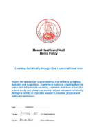 metal health and wellbeing
